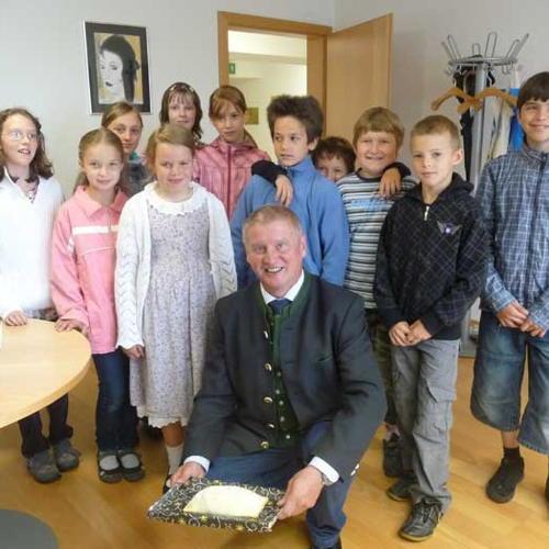 Bild zum Weblog Besuch beim Bürgermeister