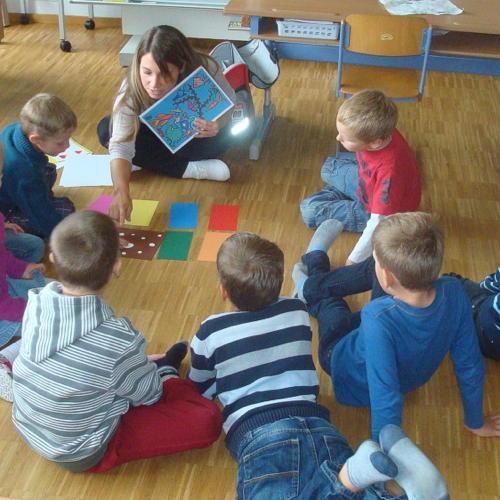 Bild zum Weblog Bilder aus der Volksschule