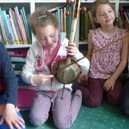 Bild zum Weblog Ein neues Streichinstrument